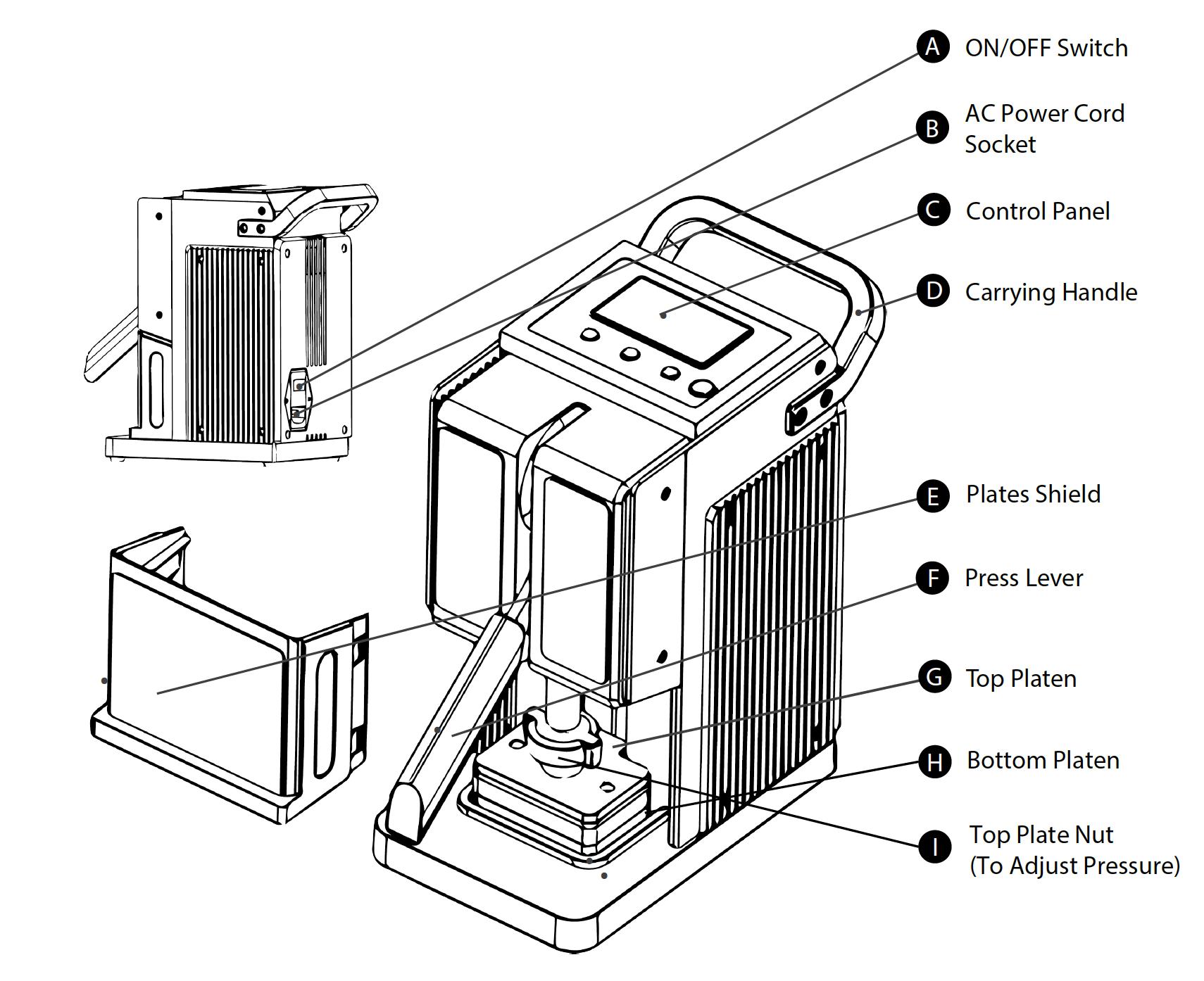 rosin press - pollen press 1