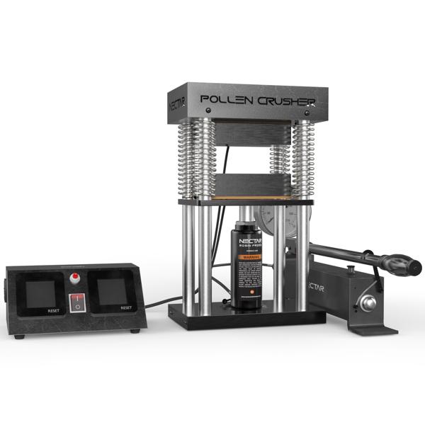 rosin press - pollen crusher 2